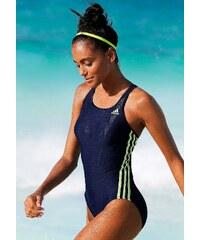 Große Größen: Badeanzug, adidas Performance, marine-gelb, Gr.36-46