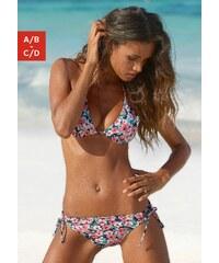 Große Größen: Triangel-Bikini, Chiemsee, hummer-mint bedruckt, Gr.34-42