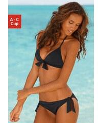 Große Größen: Triangel-Bikini, Venice Beach, schwarz, Gr.34-40