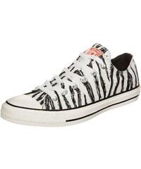 Große Größen: CONVERSE Chuck Taylor All Star OX Sneaker, weiß / schwarz, Gr.4.5 US - 37 EU-11.5 US - 46 EU