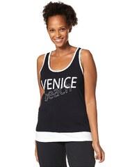 Große Größen: Venice Beach Tanktop, Schwarz-Weiß, Gr.42-52