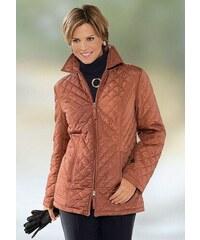 Große Größen: Classic Basics Jacke mit Hemdkragen, kupferfarben, Gr.38-56