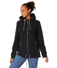 Große Größen: Ocean Sportswear Fleecejacke, schwarz, Gr.40/42-56/58