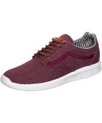 Große Größen: VANS Iso 1.5 Waxed C&L Sneaker, bordeaux / weiß, Gr.9.0 US - 42.0 EU-9.0 US - 42.0 EU