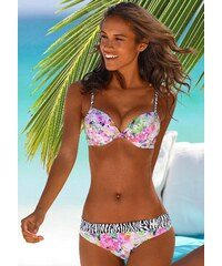 Große Größen: Bikini-Hose ´´Merle´´, Buffalo, bunt bedruckt, Gr.34-44