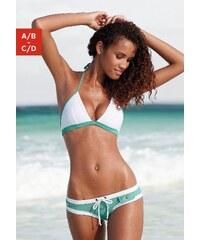 Große Größen: Triangel-Bikini, Buffalo, mint-weiß, Gr.32-40