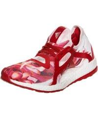 Große Größen: adidas Performance Pureboost X Laufschuh Damen, rot / weiß, Gr.5 UK - 38 EU-8.5 UK - 42.2/3 EU