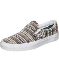 Große Größen: VANS Classic Slip-On Textile Stripes Sneaker, bunt / weiß, Gr.5.0 US - 36.5 EU-5.5 US - 37.0 EU