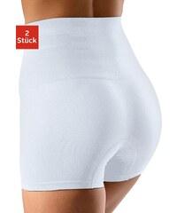 Große Größen: Petite Fleur Bodyforming-Panties (2 Stück), 2x weiß, Gr.36/38-52/54