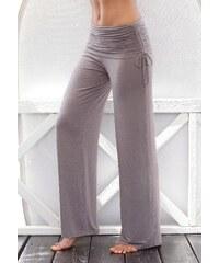 Große Größen: LASCANA Hose mit Umschlagbund, taupe, Gr.34-44