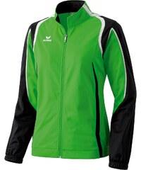Große Größen: ERIMA Razor Line Polyesterjacke Damen, grün / schwarz, Gr.38-38