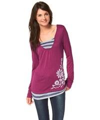 Große Größen: Ocean Sportswear Layershirt, Pink, Gr.32-36