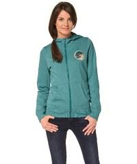 Große Größen: Ocean Sportswear Kapuzensweatjacke, Petrol, Gr.32/34-36/38