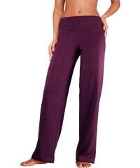 VIVANCE COLLECTION Große Größen: Vivance Homewearhose mit geradem Bein in K-Größen, rubinrot, Gr.18/19-24/25