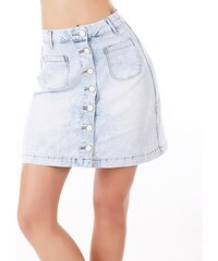 EU Dámská džínová sukně