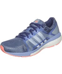 Große Größen: adidas Performance adizero Tempo Boost 8 Laufschuh Damen, blau / weiß / koral, Gr.4.5 UK - 37.1/3 EU-9 UK - 43.1/3 EU