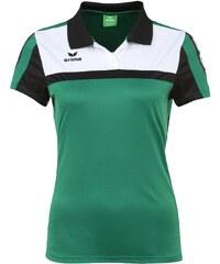 Große Größen: ERIMA 5-CUBES Poloshirt Damen, smaragd/schwarz/weiß, Gr.34-48