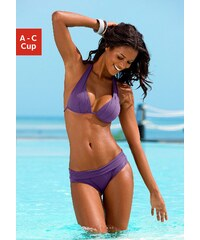 Große Größen: Triangel-Bikini, LASCANA, lila, Gr.34-40