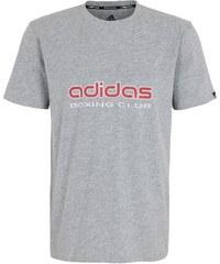 Große Größen: adidas Performance T-Shirt, »Boxing Club«, grau, Gr.XXL-M