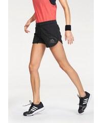 Große Größen: adidas Performance LOGO SHORT Shorts, Schwarz, Gr.S (36/38)-M (40/42)