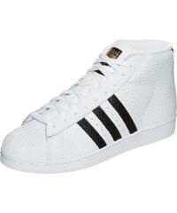 Große Größen: adidas Originals Superstar Pro Model Animal Sneaker, weiß / schwarz, Gr.11.5 UK - 46.2/3 E-11.5 UK - 46.2/3 E