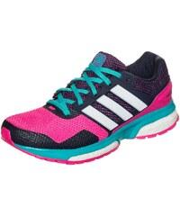 Große Größen: adidas Performance Response Boost 2 Laufschuh Damen, pink / lila / weiß, Gr.6.5 UK - 40 EU-8.5 UK - 42.2/3 EU