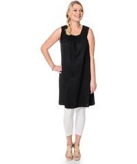 Große Größen: sheego Casual Shirtkleid, schwarz, Gr.40-58
