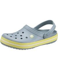 Große Größen: Crocs Clog, grau-gelb, Gr.38 (5)-46 (11)