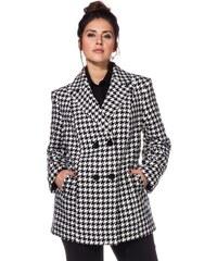 Große Größen: sheego Trend Jacke, schwarz-weiß, Gr.40-58