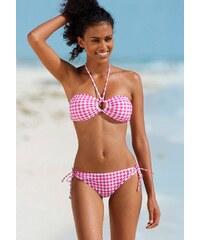 Große Größen: Bikini-Hose ´´Scuba´´, s.Oliver RED LABEL Beachwear, rosa kariert, Gr.36-42