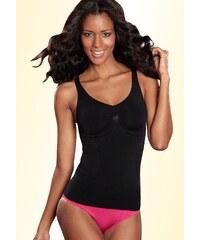 Große Größen: LASCANA Shaping-Hemd, schwarz, Gr.XL (48/50)-XXL (52)