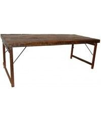 Industrial style, Vintage jídelní stůl 75x200x90cm (935)