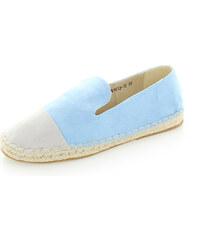 United Fashion Světle modré mokasíny Serenna