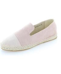 United Fashion Světle růžové mokasíny Serenna