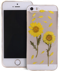 Lesara Hülle für Apple iPhone Sonnenblume - Iphone 5 / 5s