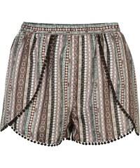 Kraťasy dámské firetrap Shorts Festival Stripe