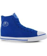 Dunlop dětské Canvas High Top Trainers Blue
