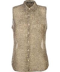 Košile dámská golddigga Long Sleeve Check Animal