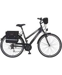 REX Trekkingrad (Damen) »ENTDECKER 620, 28 Zoll«, SHIMANO Acera 24 Gang, Inkl. Fahrradtaschen