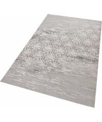 Teppich merinos Danica Vintage Hoch-Tief-Effekt MERINOS grau 2 (B/L: 80x150 cm),3 (B/L: 120x170 cm),4 (B/L: 160x230 cm),6 (B/L: 200x300 cm)