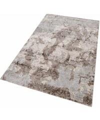 MERINOS Teppich merinos Edina Vintage Hoch-Tief-Effekt braun 2 (B/L: 80x150 cm),3 (B/L: 120x170 cm),4 (B/L: 160x230 cm),6 (B/L: 200x290 cm)