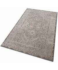 Teppich merinos Naomi Vintage Hoch-Tief-Effekt MERINOS grau 2 (B/L: 80x150 cm),3 (B/L: 120x170 cm),4 (B/L: 160x230 cm),6 (B/L: 200x290 cm)