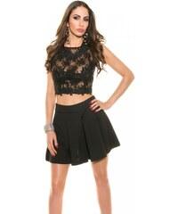 Koucla Dámská krátká sukně DS18850C černá