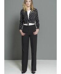 CLP Dámské elegantní kalhoty DK75116C Barva: Černá,