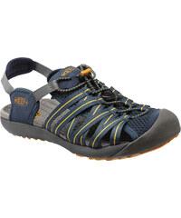 Pánská outdoorové sandále KEEN KUTA M MIDNIGHT NAVY/AMBER GREEN
