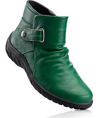 bpc selection Bottines en 2 largeurs, chaussant ample vert chaussures & accessoires - bonprix