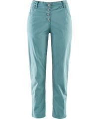bpc bonprix collection Pantalon chino 7/8 paper touch bleu femme - bonprix