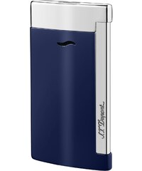 S.T. Dupont Feuerzeug Slim 7 Bleu & Chrome 27709