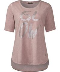 Street One - T-shirt imprimé vintage Ella - shadow rose