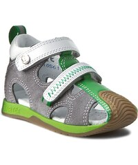 Sandály BARTEK - 81772 Grey/Green